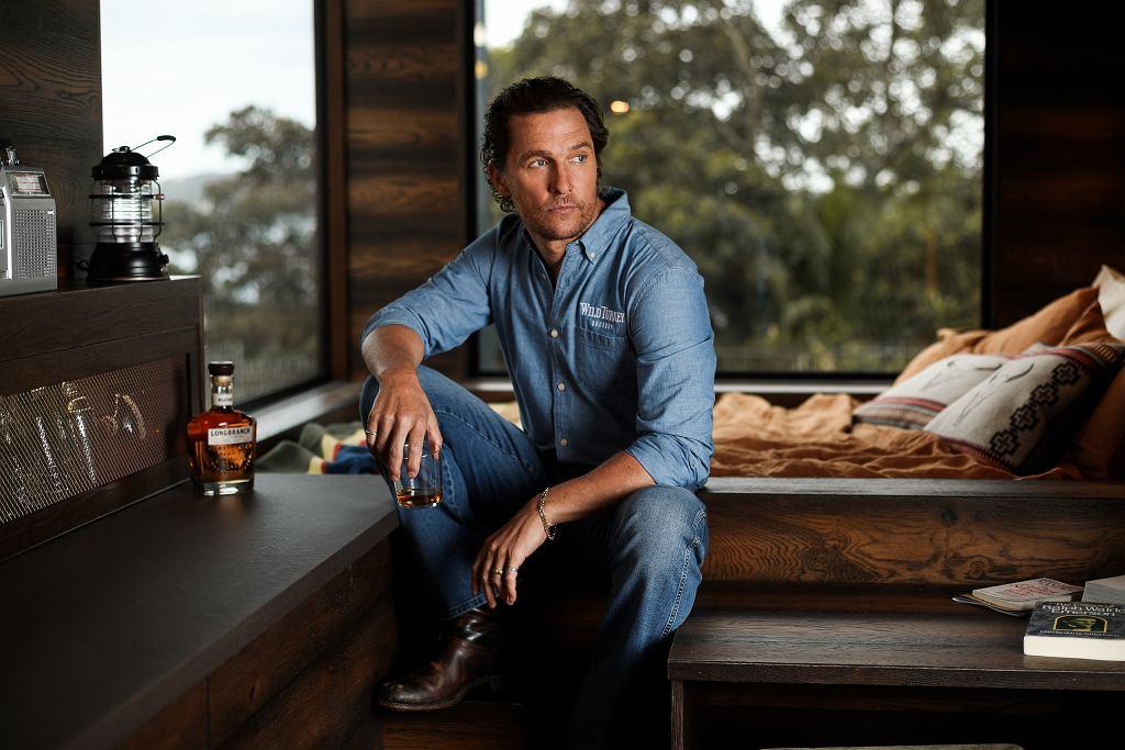 Matthew McConaughey Wilderness Cabin