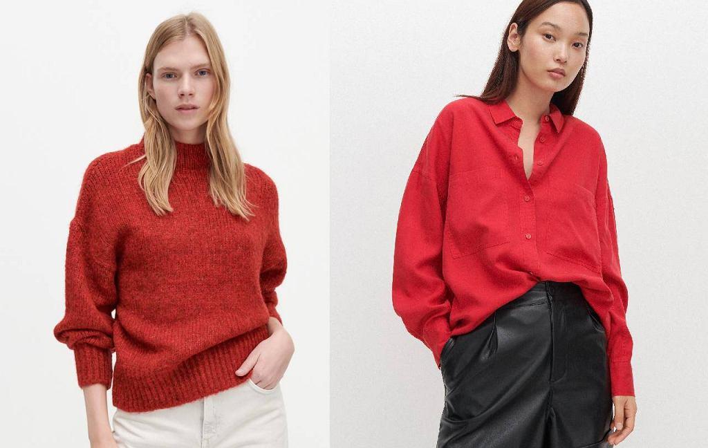 Czerwone ubrania