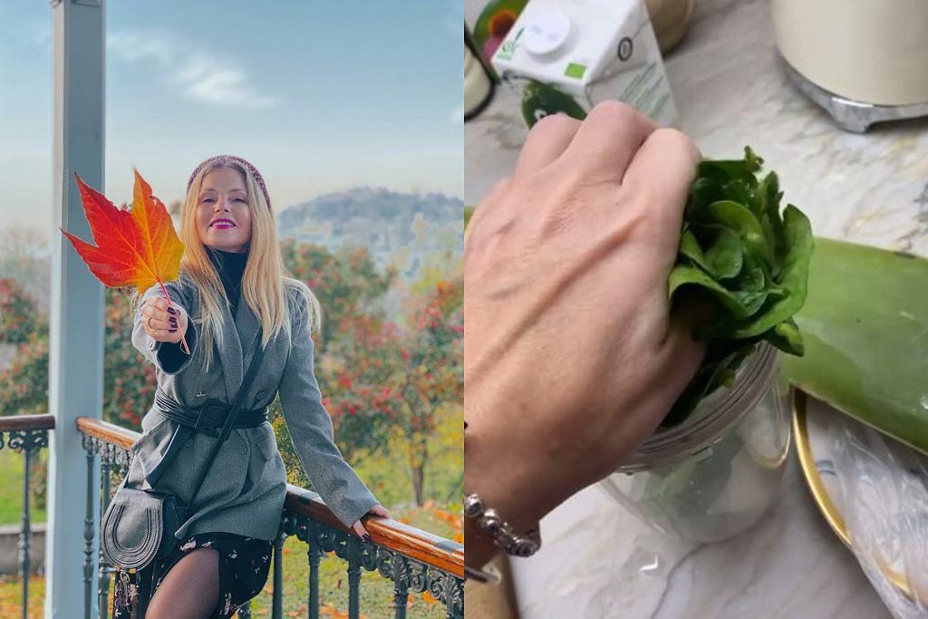 Zielony koktajl Ewy Szabatin