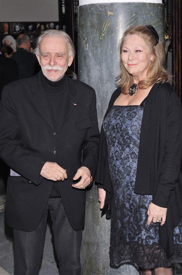 Stefan Szmidt i jego żona, Alicja Jachiewicz-Szmidt