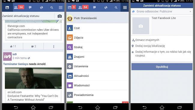 Facebook Lite - lekka wersja aplikacji Facebooka pojawiła się w Polsce. Sprawdzamy, jak działa