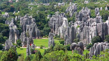 Kamienny Las w Chinach