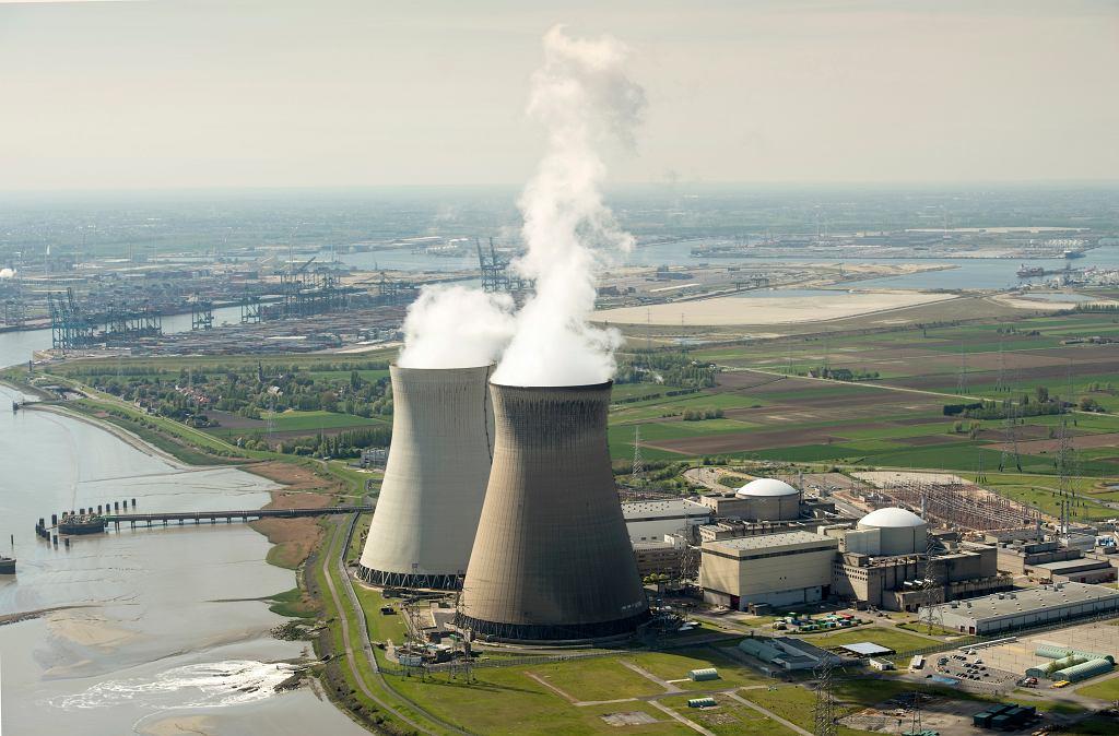Elektrownia atomowa Doel, Belgia.