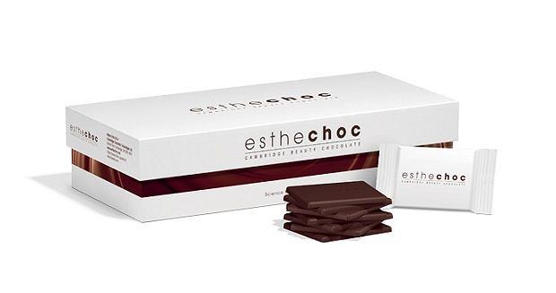 Esthechoc - pierwsza czekolada, która odmładza