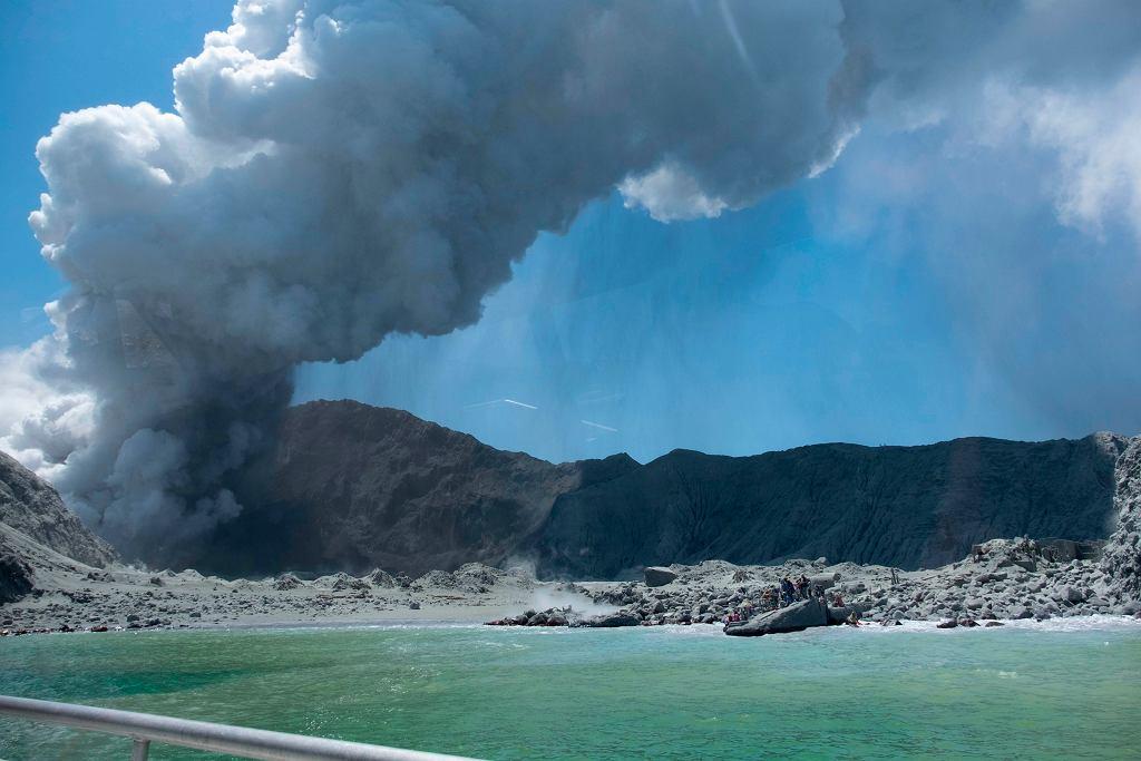 Wybuch wulkanu na White Island