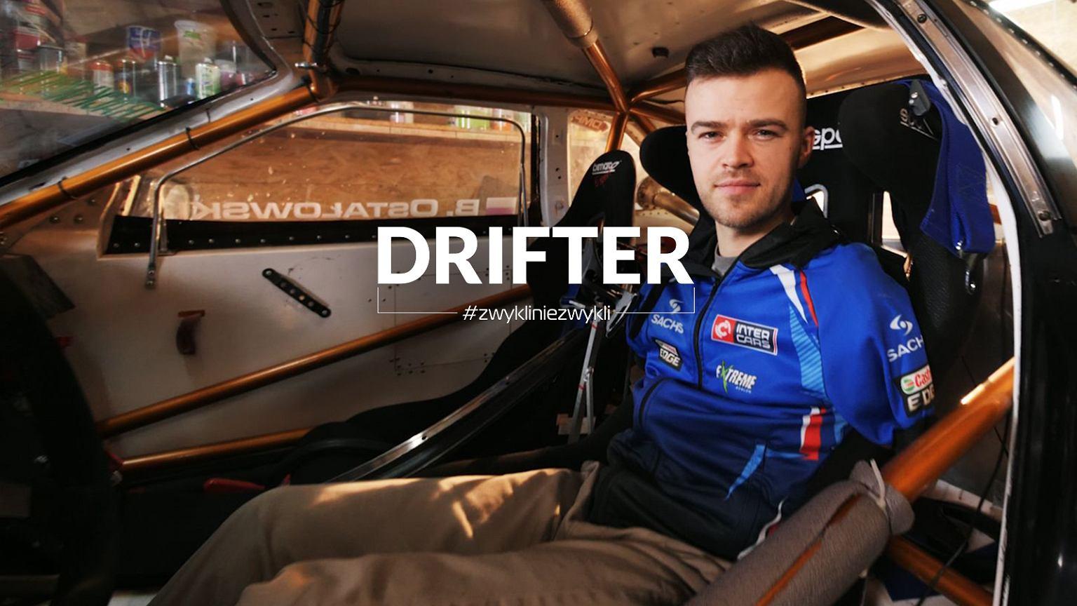 Bartosz Ostałowski - jedyny profesjonalny kierowca na świecie, który prowadzi stopą