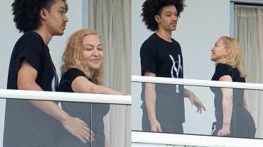 Madonna z chłopakiem