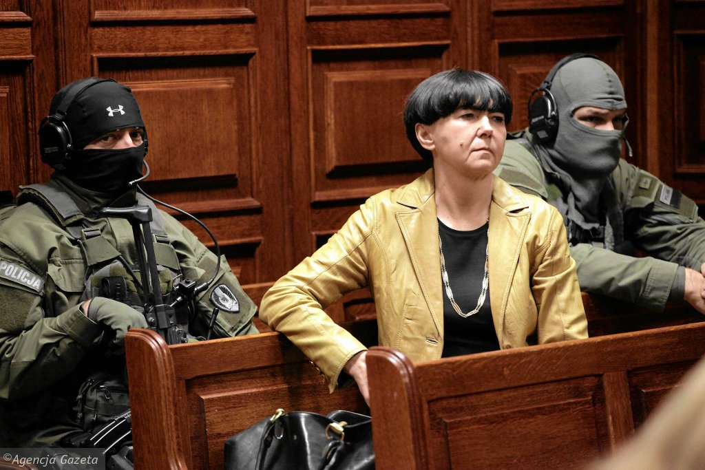Barbara Piwnik jako obserwator w procesie o zabójstwo Marka Papały