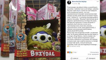 'Brzydal do bicia' kontrowersyjna zabawka, która oburzyła rodziców