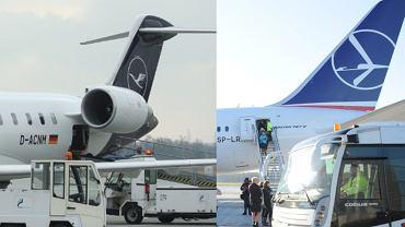 Spór PLL LOT i Lufthansa o logotyp trwa