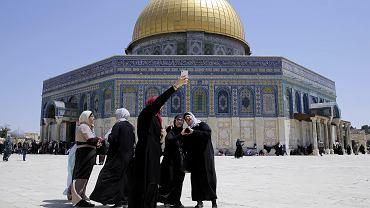 Kopuła na Skale na Wzgórzu Świątynnym w Jerozolimie - trzecie najświętsze miejsce islamu