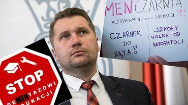 Ogólnopolski Strajk Edukacyjny. Uczniowie chcą odwołania ministra Czarnka