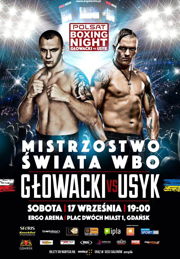 Gala Polsat Boxing Night juz 17 września w Ergo Arenie