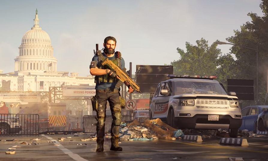 Kadr z oficjalnej zapowiedzi gry 'Tom Clancy's The Division 2'