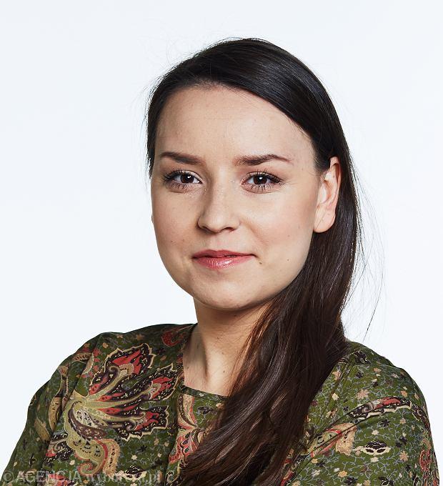 Magdalena Gontarek, dziennikarka 'Gazety Wyborczej Łódź'