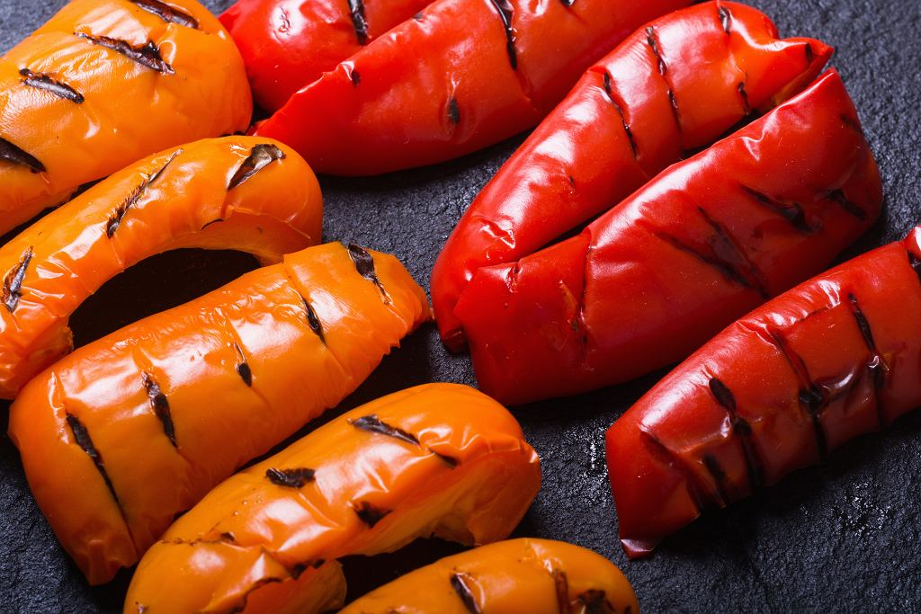 Grillowana czerwona papryka