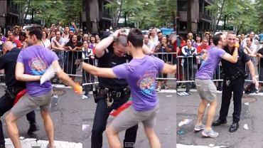 Tańczący policjant z Nowego Jorku