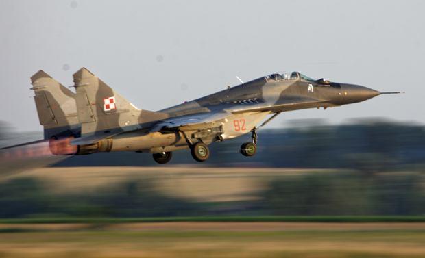 MiG-29 startuje (Fot. Tomasz Gackowski/Moment Photo)