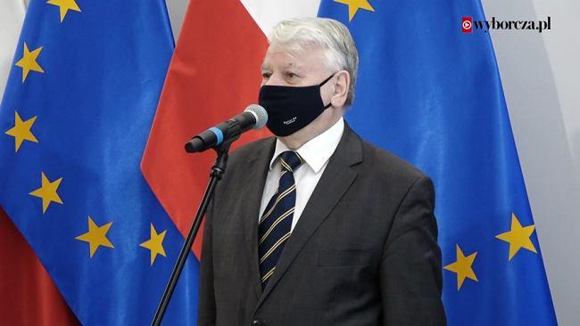 Borusewicz o sprawie Adamowicza: Podejrzewam, że prokuratura chce coś ukryć