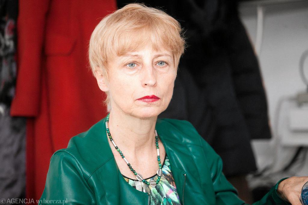 Anna Chołodecka, dyrektorka Centrum Kształcenia Zawodowego