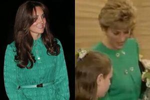Księżna Kate i Księżna Diana.