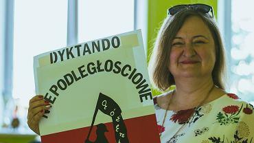 Dorota Wierdak, nauczycielka j. polskiego w II Liceum Ogólnokształcącym im. Marii Skłodowskiej-Curie w Sanoku