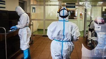 Pandemia koronawirusa. Oddział zakaźny Szpitala Wojewódzkiego im. Marii Konopnickiej w Zgierzu, 29 października 2020
