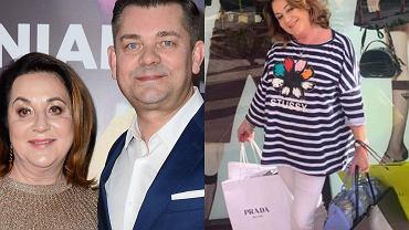 Żona Zenona Martyniuka chwali się ekskluzywną garderobą.