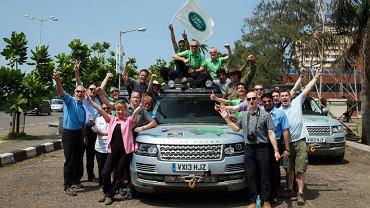 Silk Trail 2013 - Range Rover Hybrid Expedition