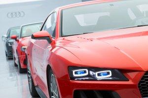 Audi prezentuje reflektory laserowe