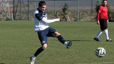 Vladimiris Kamess na treningu Pogoni