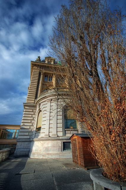 Szwajcaria. Budynek banku w Lozannie / Flickr.com / Carolune