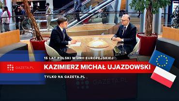 Rozmowa z Kazimierzem Michałem Ujzadowskim w Sstrasburgu