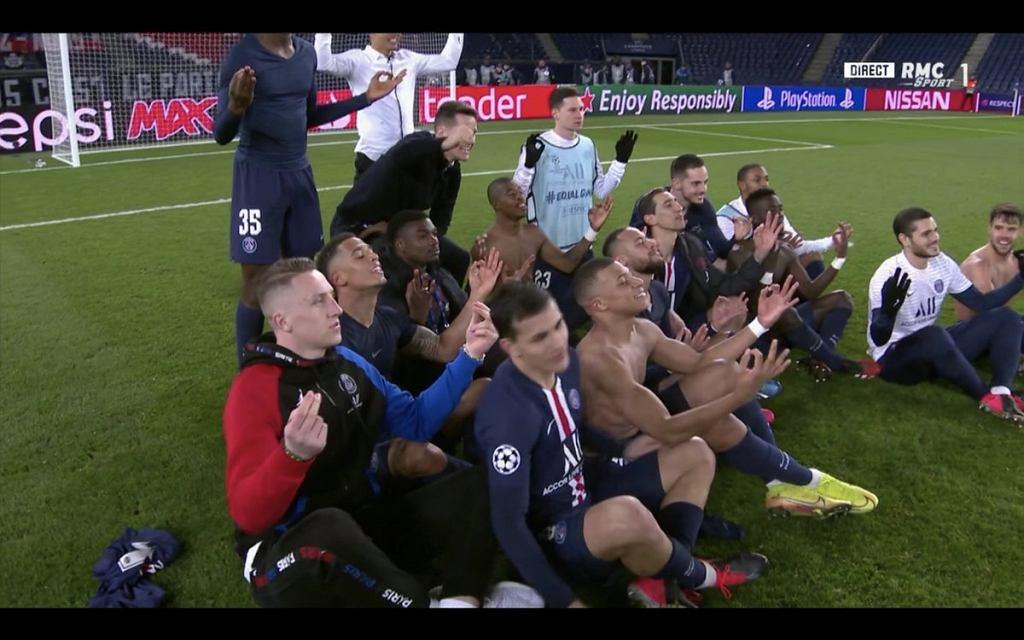 Piłkarze PSG zakpili z Erlinga Haalanda