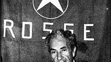 Zdjęcie porwanego Aldo Moro opublikowane przez terrorystów