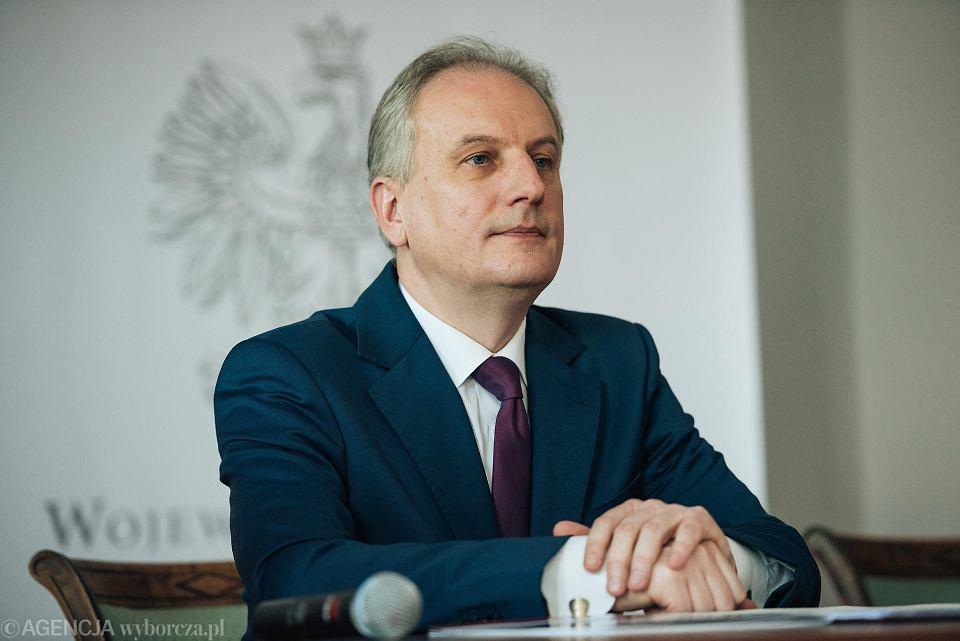 Wojewoda pomorski Dariusz Drelich