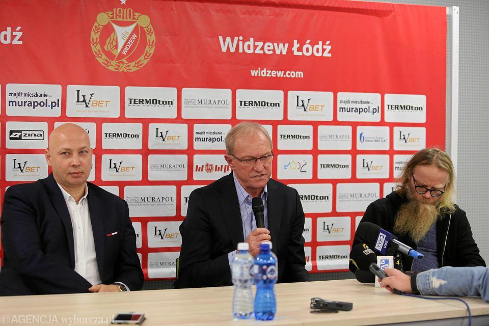Przemysław Klementowski, Franciszek Smuda i Michał Sapota