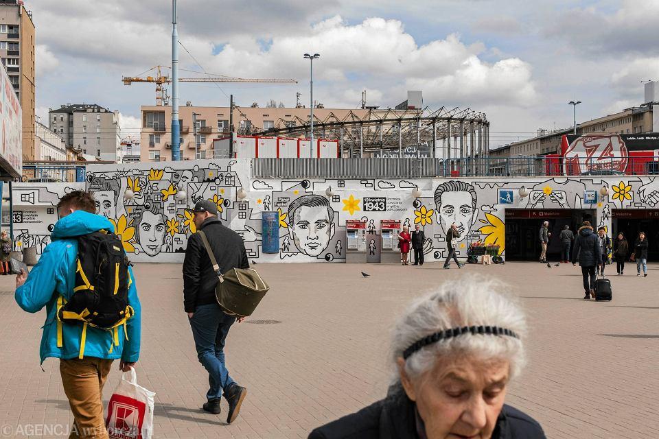 Zdjęcie numer 21 w galerii - Rocznica powstania w getcie warszawskim. Żonkil oznacza pamięć