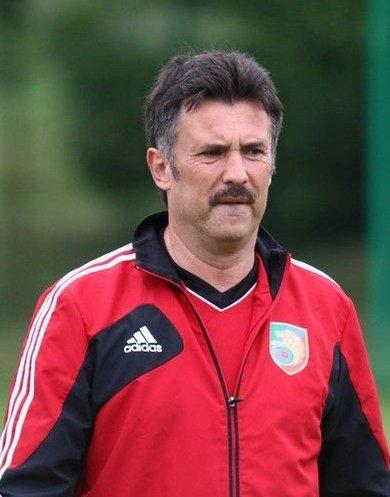 Wojciech Stawowy - trener Miedzi Legnica