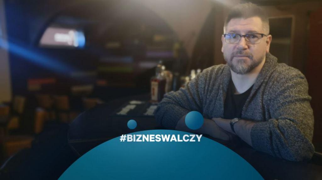 Bartosz Raczkowski, właściciel 'Cynamonu'