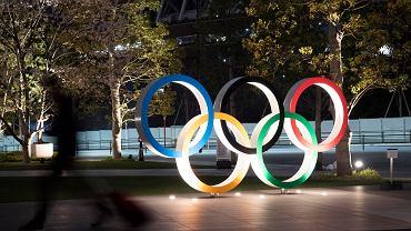 Tokio 2021. Logo olimpijskie w stolicy Japonii