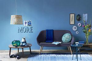 Modny niebieski w twoim mieszkaniu!