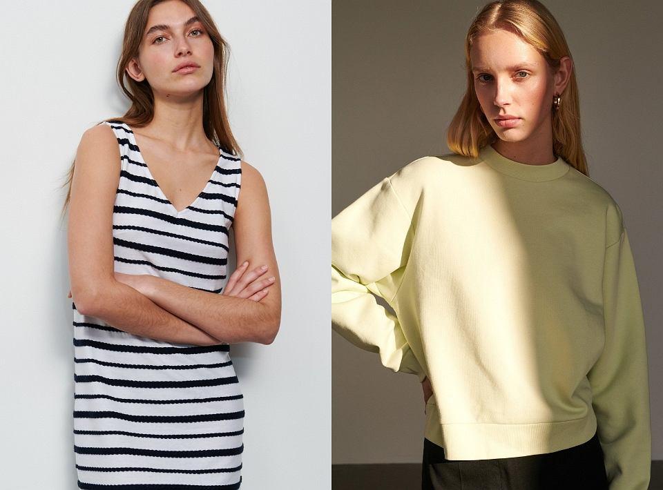 Ubrania z dobrych materiałów jako element domowego look'u