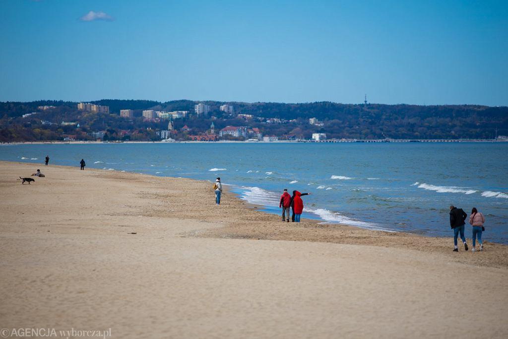 Plaża w Brzeźnie, Gdańsk