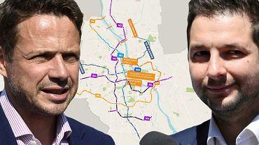 Jaki i Trzaskowski prześcigają się w obietnicach rozbudowy metra