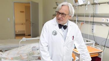 Prof. dr hab. n. med. Wojciech Maksymowicz z Katedry Neurologii i Neurochirurgii Szpitala Uniwersyteckiego. Olsztyn, 13 kwietnia 2016