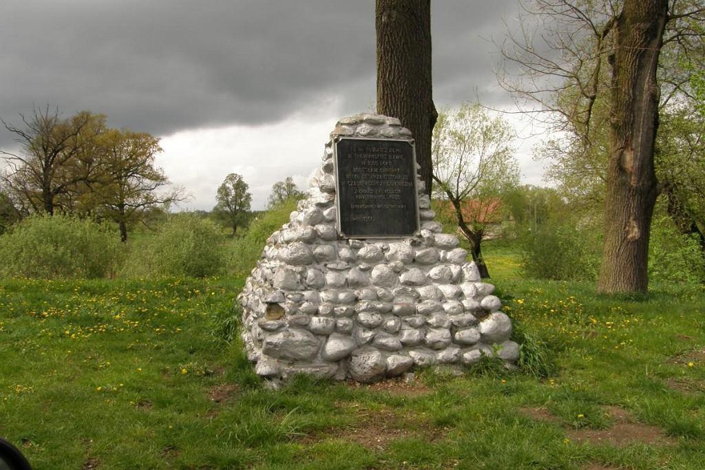 Pomnik upamiętniający spotkanie Bolesława Chrobrego z Ottonem III