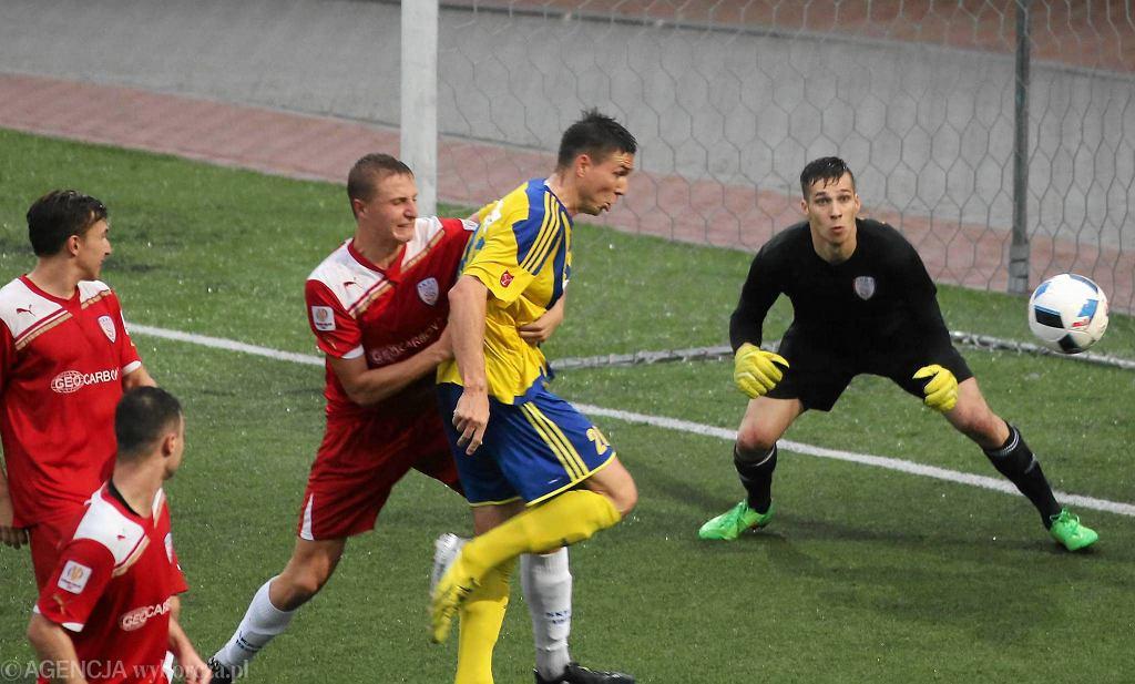 Skra Częstochowa podczas meczu ze Stalą Brzeg - 17 września 2016 r.