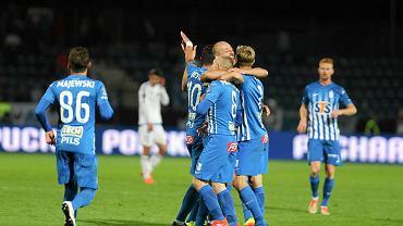 Ruch Chorzów - Lech Poznań 0:3 w Pucharze Polski.