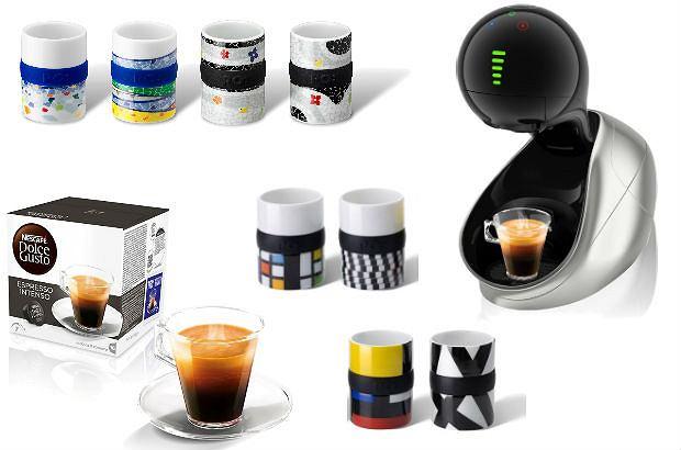 Espresso - filiżanki i kawa